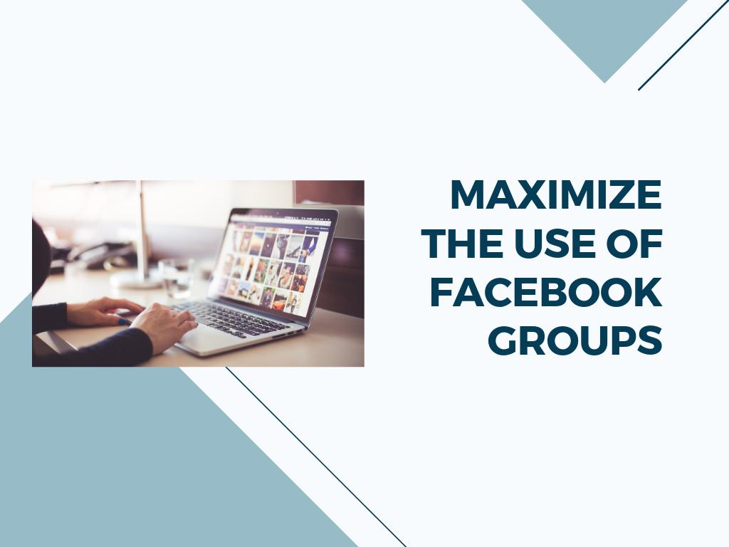 Maximizing Organic Reach through Facebook Groups