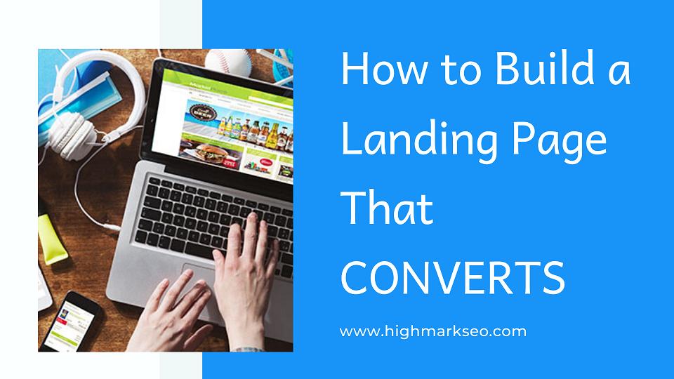 Build a Landing Page that converts