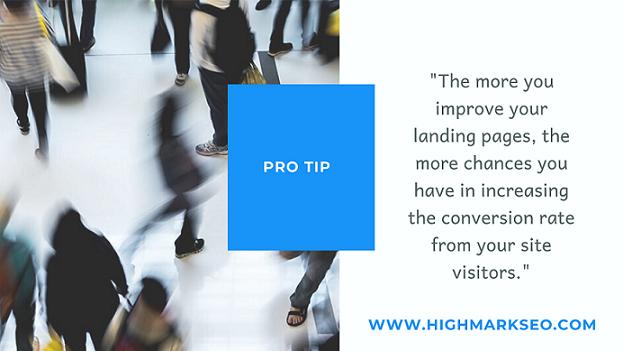 Pro tip for Landing Page Creators