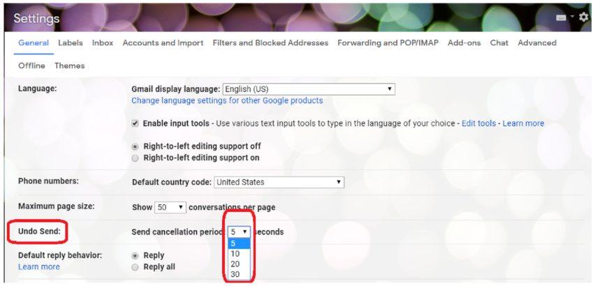 gmail screenshot of wrong email saver