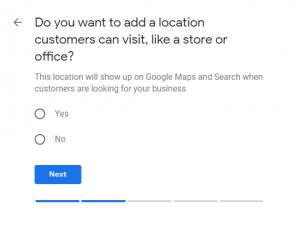 add a location